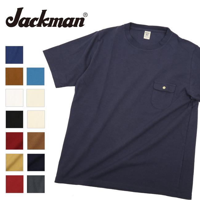 Jackman ジャックマン Pocket T-Shirt JM5850 【メンズ/ カジュアル】【メール便・代引不可】
