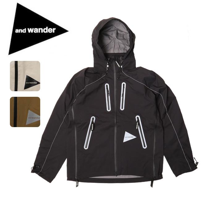 アンドワンダー and wander e vent jacket AW83-FT607 【アウトドア/フード】 【clapper】