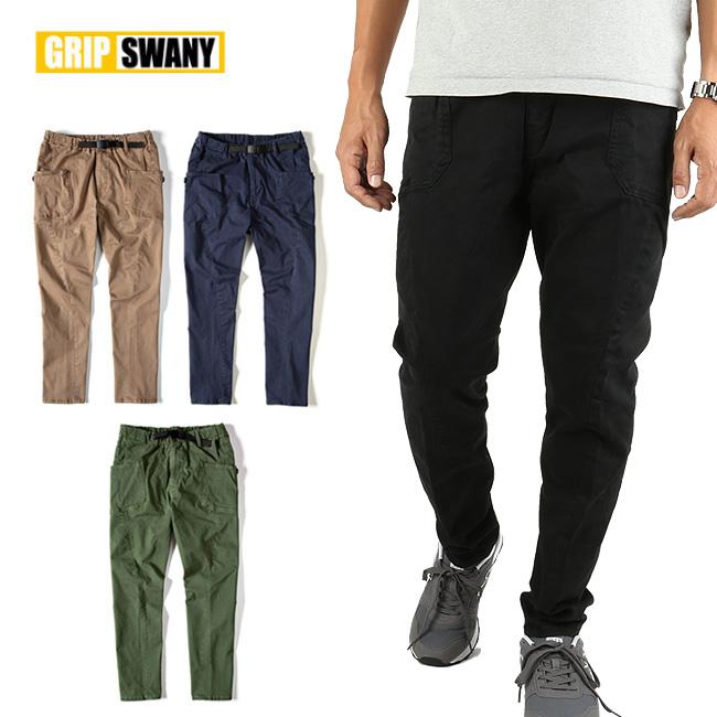 GRIP SWANY グリップスワニー JOG 3D CAMP PANTS GSP-55 【アウトドア/パンツ/メンズ/ボトムス/キャンプパンツ/キャンプ】 【clapper】