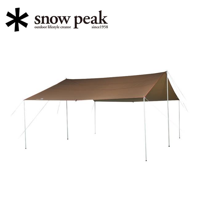 ★ snowpeak スノーピーク HD-Tarp Recta L HDタープ シールド・レクタ(L) TP-842H 【アウトドア/キャンプ/日除け】