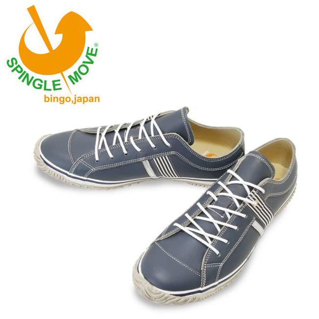 ★ 【サイズ交換送料無料】スピングルムーブ SPINGLE MOVE SPM168 Blue Gray SPM-168-106 【靴/スニーカー/メンズ/レディース】