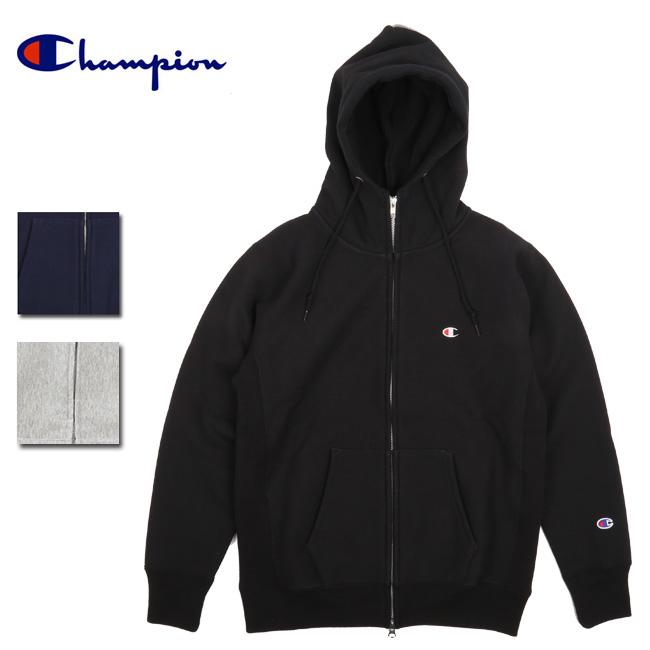 Champion チャンピオン REVERSE WEAVE STORMSHELL ZIP HOODED SWEATSHIRT C3-L109 【スウェット/トレーナー/パーカ-/コットン】 【clapper】