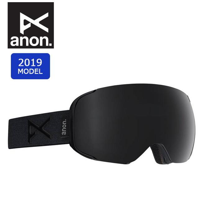 2019 anon アノン ASIAN M2 W/SPR SMOKE/SONARSMOKE 18556101032 【ゴーグル/日本正規品/アジアンフィット/メンズ】