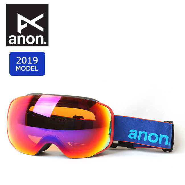 2019 anon アノン ASIAN M2MFI W/SPARE BLUE/SONARIRBLUE 20336100444 【ゴーグル/日本正規品/アジアンフィット/メンズ】 【clapper】