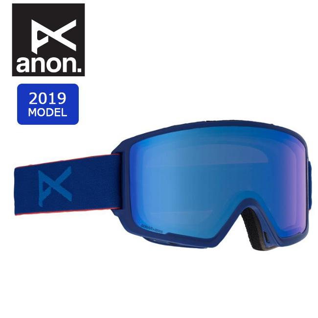 2019 anon アノン ASIAN M3 W/SPR BLUE/SONARIRBLUE 20339100444 【ゴーグル/日本正規品/アジアンフィット/メンズ】
