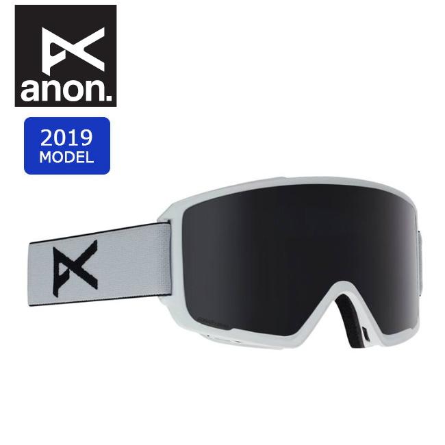 2019 anon アノン ASIAN M3 W/SPR WHITE/SONARSMOKE 20339100118 【ゴーグル/日本正規品/アジアンフィット/メンズ】