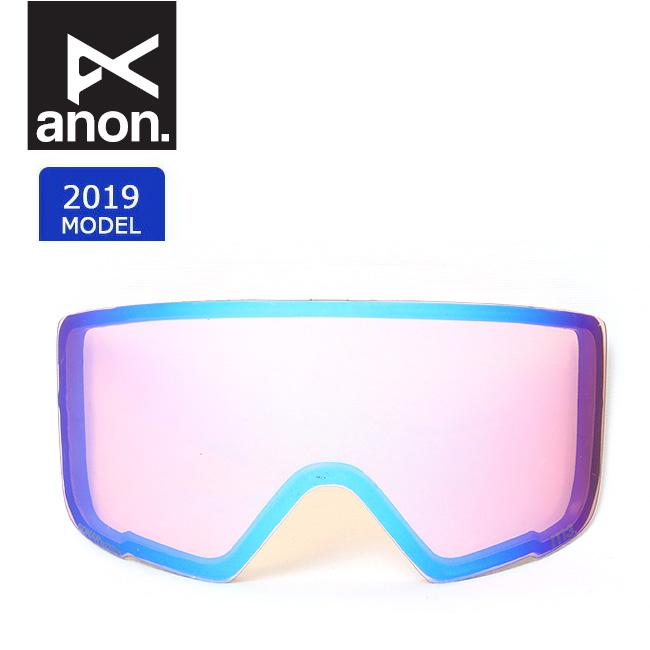 2019 anon アノン M3 SONAR LENS SONAR BLUE 19178100407 【スぺアレンズ/ゴーグル/日本正規品/メンズ】 【clapper】
