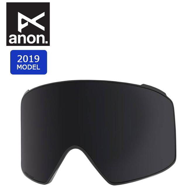 2019 anon アノン M4 CYL LENS DARK SMOKE 20449100073 【スぺアレンズ/ゴーグル/日本正規品/メンズ】 【clapper】