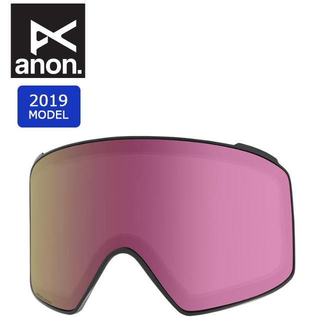 2019 anon アノン M4 CYL SONAR LENS SONAR PINK 20449100651 【ゴーグル/日本正規品/メンズ】