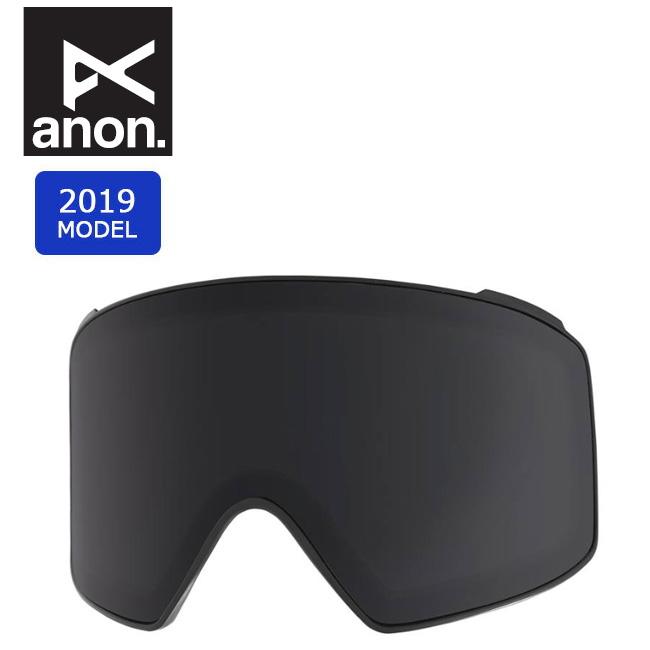 2019 anon アノン M4 CYL SONAR LENS SONAR SMOKE 20449100033 【スぺアレンズ/ゴーグル/日本正規品/メンズ】 【clapper】