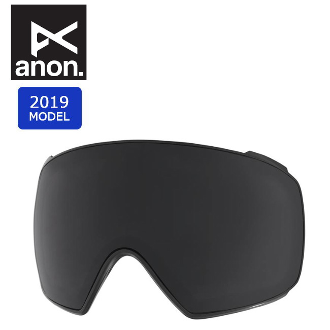 2019 anon アノン M4 TORIC LENS DARK SMOKE 20450100073 【スぺアレンズ/ゴーグル/日本正規品/メンズ】 【clapper】