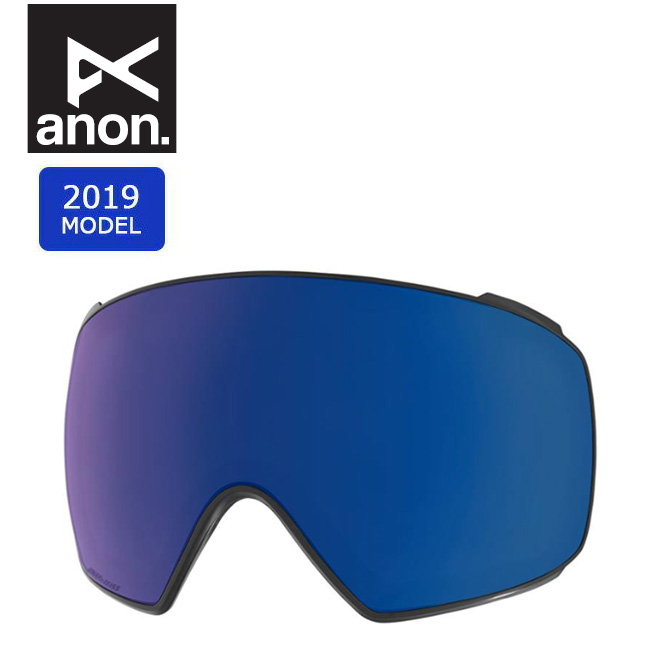 2019 anon アノン M4 TORIC SONAR LENS SONAR BLUE 20450100407 【スぺアレンズ/ゴーグル/日本正規品/メンズ】 【clapper】