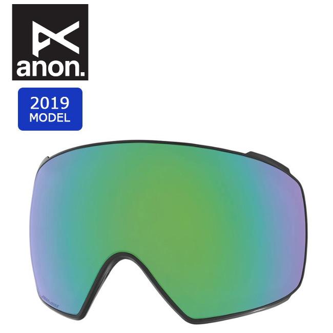 2019 anon アノン M4 TORIC SONAR LENS SONAR GREEN 20450100309 【スぺアレンズ/ゴーグル/日本正規品/メンズ】 【clapper】