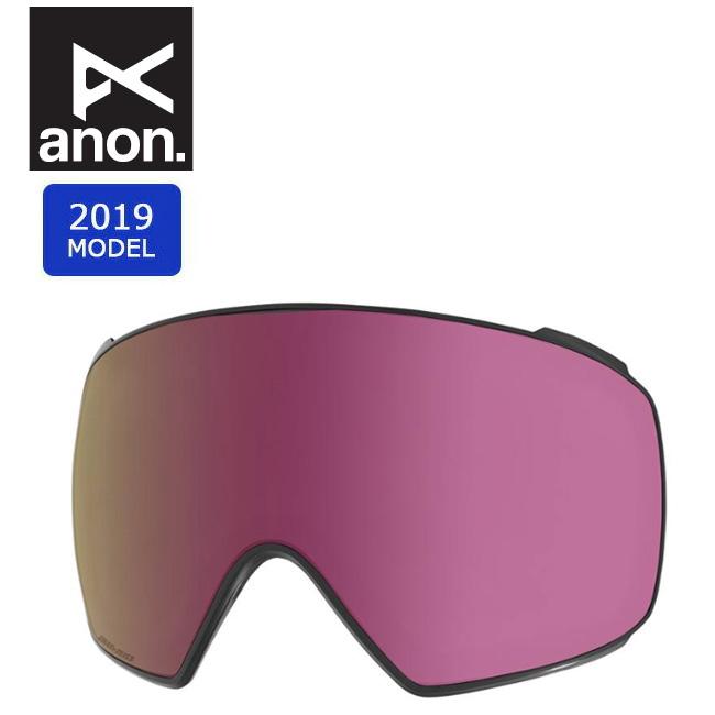 2019 anon アノン M4 TORIC SONAR LENS SONAR PINK 20450100651 【スぺアレンズ/ゴーグル/日本正規品/メンズ】 【clapper】