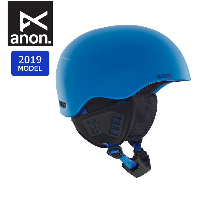 2019 anon アノン HELO 2.0 BLUE 15233103400 【ヘルメット/日本正規品/メンズ】 【clapper】
