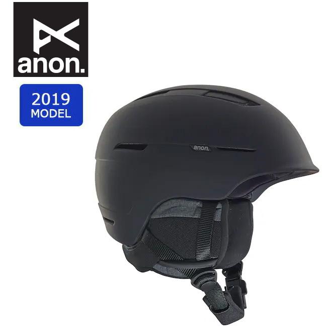 2019 anon アノン INVERT ASIA BLACK 20604100001 【ヘルメット/日本正規品/メンズ】 【clapper】