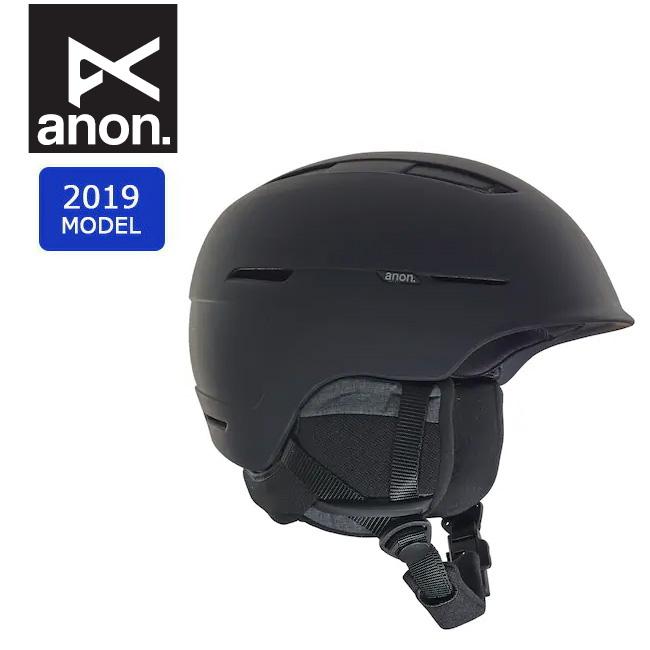 2019 anon アノン INVERT MIPS ASIA BLACK 20606100001 【ヘルメット/日本正規品/メンズ】 【clapper】