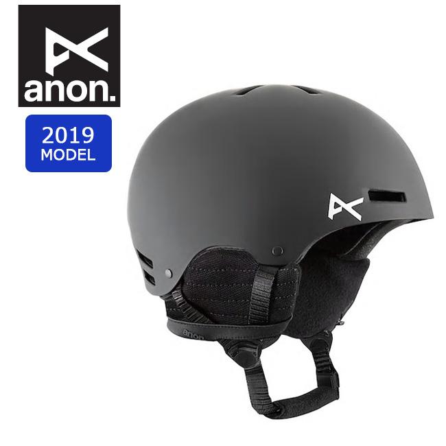 2019 anon アノン RIME BLACK 13282100001 【ヘルメット/日本正規品/キッズ/ジュニア】 【clapper】