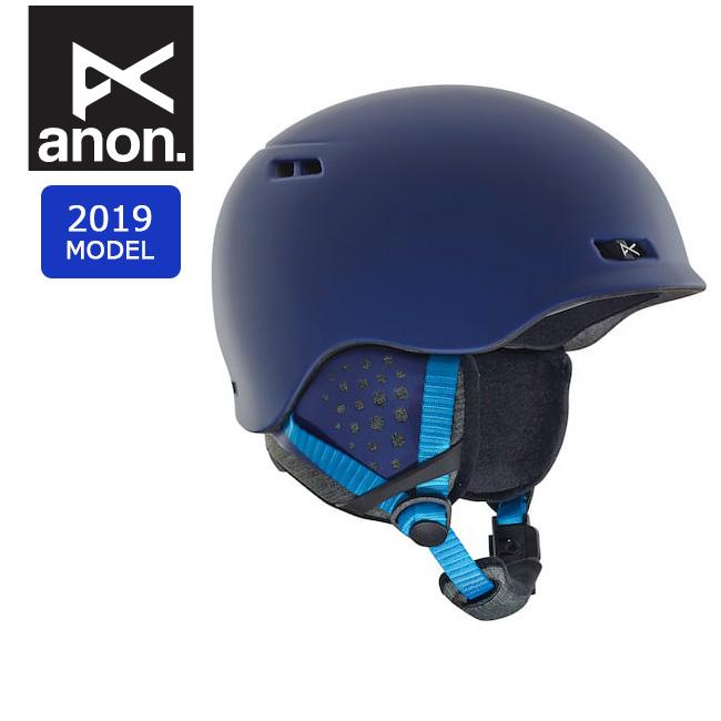 2019 anon アノン RODAN BLUE 13362104400 【ヘルメット/日本正規品/メンズ】 【clapper】