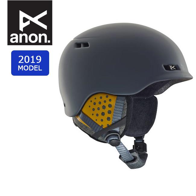2019 anon アノン RODAN GRAY 13362104060 【ヘルメット/日本正規品/メンズ】 【clapper】