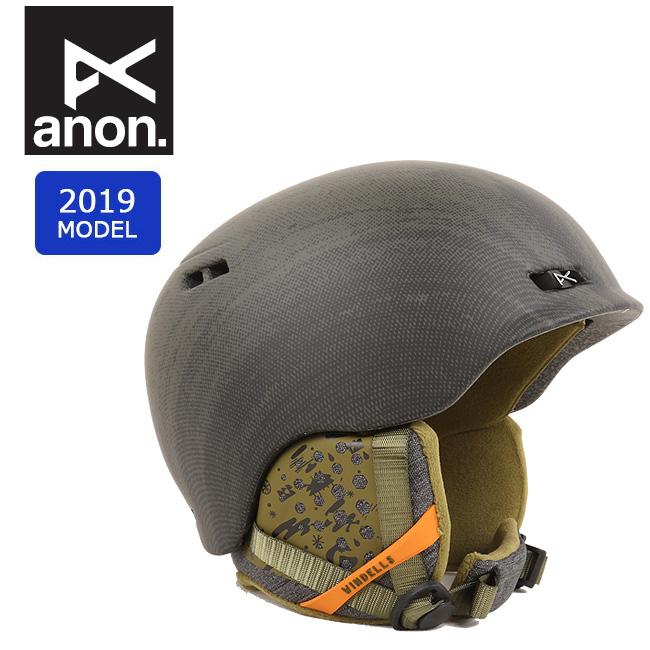 【期間限定エントリーでP7倍! 8月4日20時から】2019 anon アノン RODAN WINDELLS 13362104013 【ヘルメット/日本正規品/メンズ】 【clapper】
