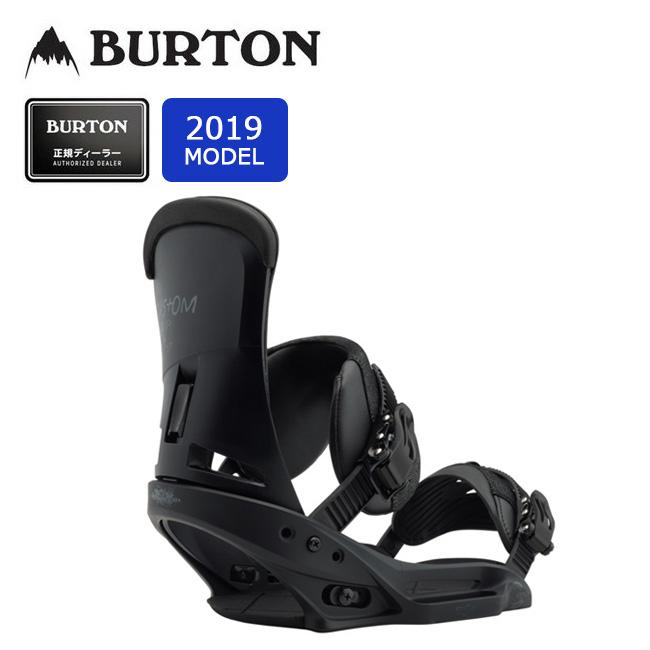2019 BURTON バートン CUSTOM EST 105611 【Channelボード専用】【ビンディング/スノーボード/日本正規品/メンズ】 【clapper】