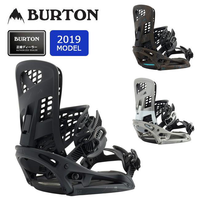 2019 BURTON バートン GENESIS EST 105631 【Channelボード専用】【ビンディング/スノーボード/日本正規品/メンズ】 【clapper】