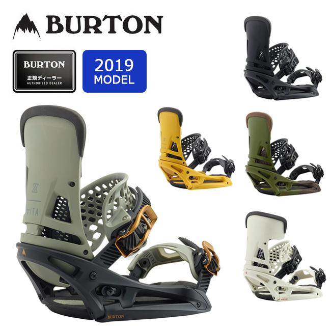 2019 BURTON バートン MALAVITA EST 105541 【Channelボード専用】【ビンディング/スノーボード/日本正規品/メンズ】 【clapper】