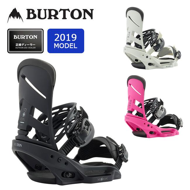 2019 BURTON バートン MISSION EST 105581 【Channelボード専用】【ビンディング/スノーボード/日本正規品/メンズ】 【clapper】