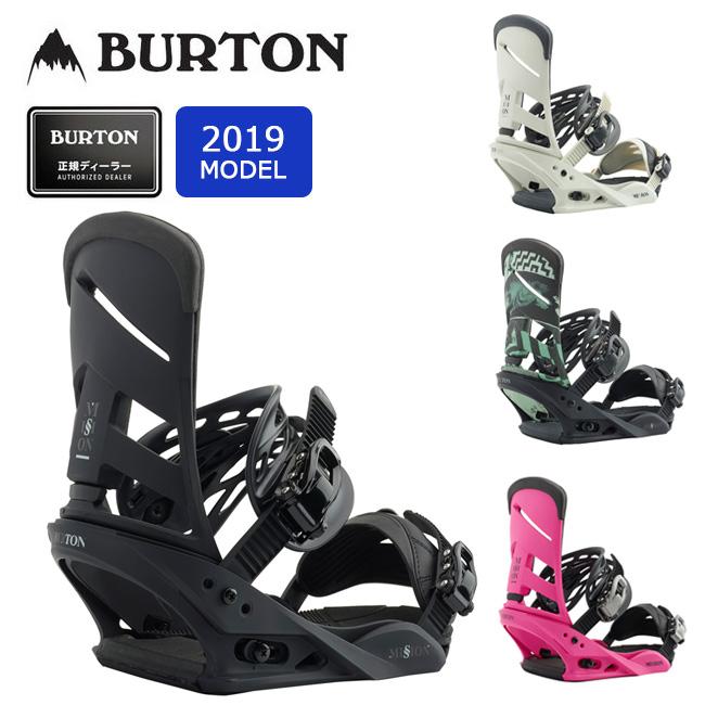 【全品エントリーでプラス5倍 4/9 20時~】2019 BURTON バートン MISSION 105461 【ビンディング/スノーボード/日本正規品/メンズ】 【clapper】
