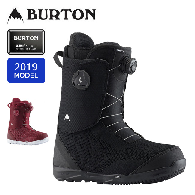 2019 BURTON バートン SWATH BOA 203181 【ブーツ/スノーボード/日本正規品/メンズ】 【clapper】