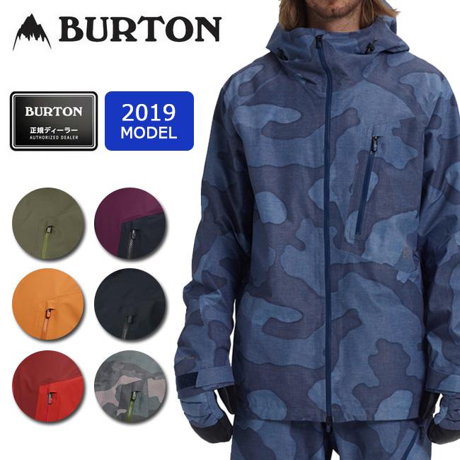 2019 BURTON バートン M AK GORE CYCLIC JK 100021 【スノーボードウェア/ジャケット/スノーボード/日本正規品/メンズ/GORE-TEX】 【clapper】