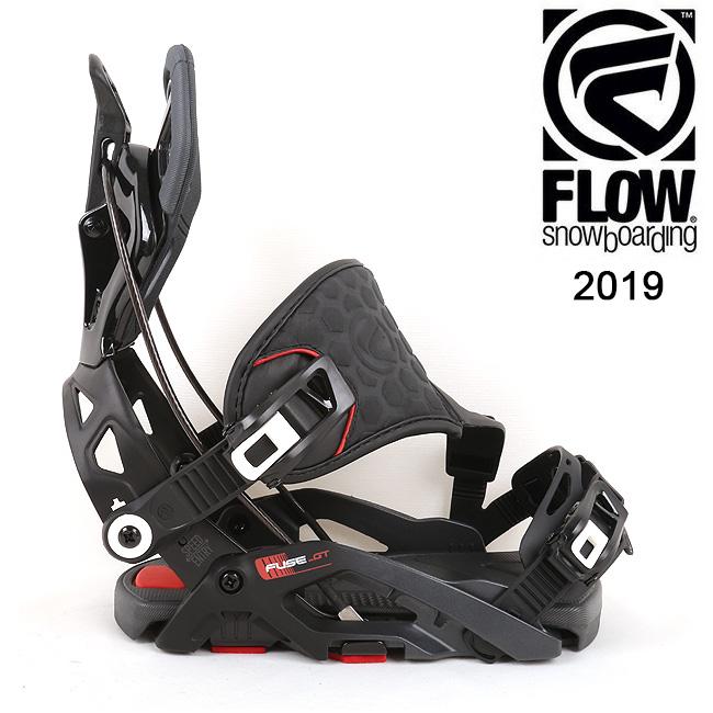 2019 FLOW フロー FUSE-GT HYBRID 【ビンディング/日本正規品/スノー/スノーボード/メンズ】 【clapper】