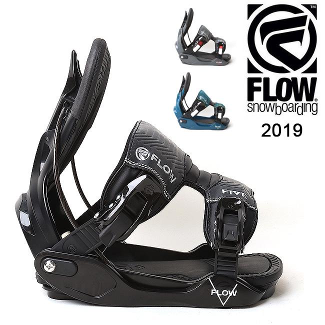 【スマホエントリでP10倍 11/21 09:59迄 】2019 FLOW フロー FIVE FUSION 【ビンディング/日本正規品/スノー/スノーボード/メンズ】