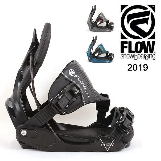 2019 FLOW フロー FIVE HYBRID 【ビンディング/日本正規品/スノー/スノーボード/メンズ】 【clapper】