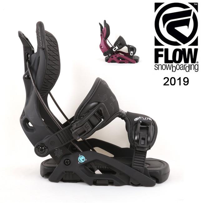 【スマホエントリでP10倍 11/21 09:59迄 】2019 FLOW フロー OMNI FUSION 【ビンディング/日本正規品/スノー/スノーボード/ レディース】