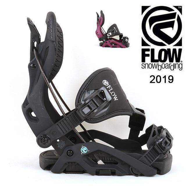 2019 FLOW フロー OMNI HYBRID 【ビンディング/日本正規品/スノー/スノーボード/ レディース】 【clapper】