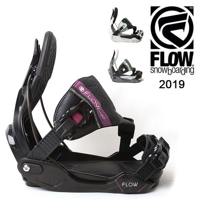 【全品エントリーでプラス5倍 4/9 20時~】2019 FLOW フロー MINX HYBRID 【ビンディング/日本正規品/スノー/スノーボード/ レディース】 【clapper】