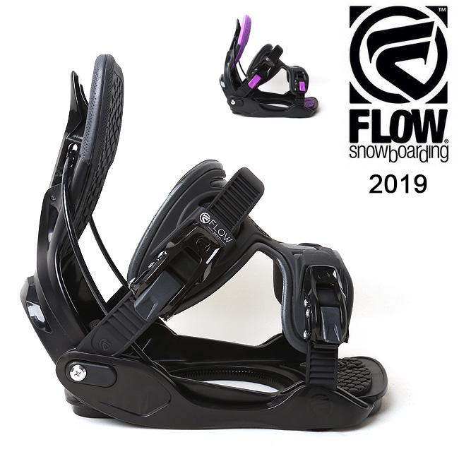 2019 FLOW フロー HAYLO EXOFIT 【ビンディング/日本正規品/スノー/スノーボード/ レディース】 【clapper】