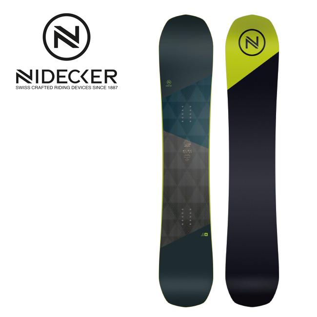 2019 NIDECKER ナイデッカー MERC 【板/スノーボード/日本正規品/メンズ/FLOW】 【clapper】