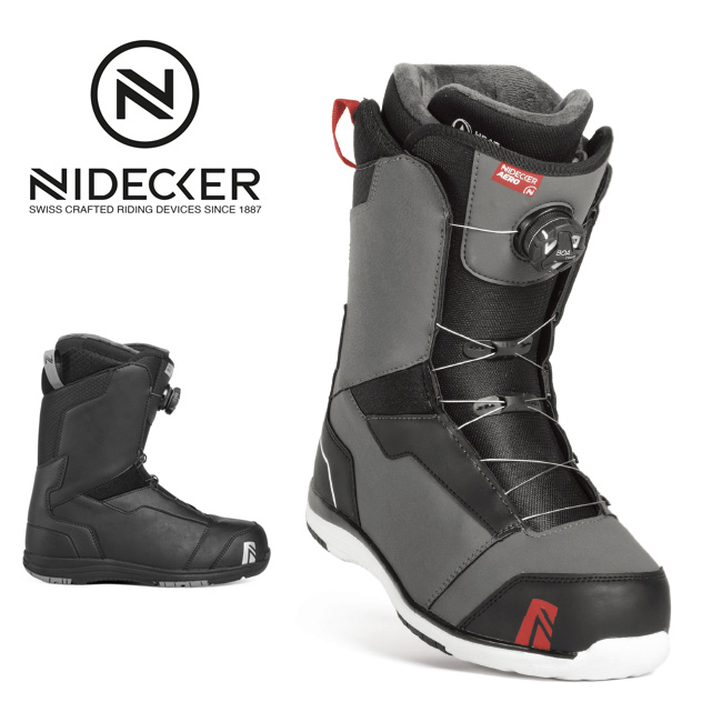 2019 NIDECKER ナイデッカー AERO COILER 【ブーツ/スノーボード/日本正規品/メンズ/FLOW】 【clapper】