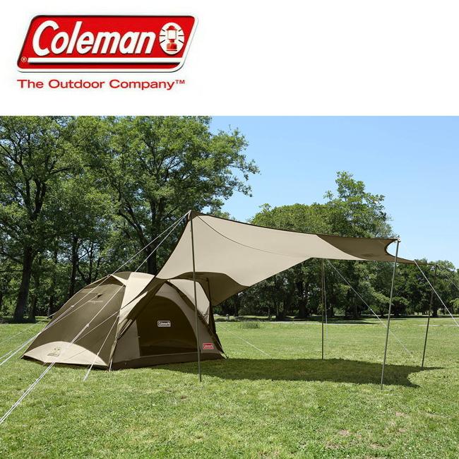 Coleman コールマン タフワイドドームIV/300 ヘキサセット(オリーブ/サンド) 2000033799 【アウトドア/キャンプ/テント】