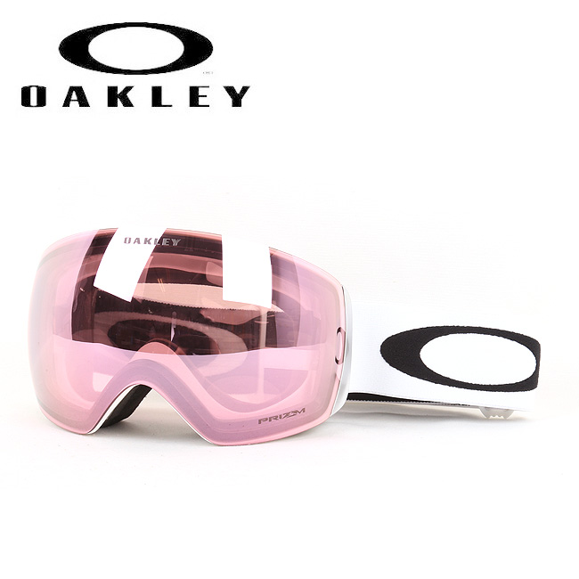 2019 OAKLEY オークリー ゴーグル FLIGHT DECK Polished White/Prizm HI Pink Iridium oo707404 【ゴーグル】 Asia Fit ジャパンフィット