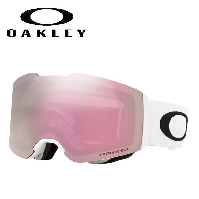 2019 OAKLEY オークリー ゴーグル FALL LINE Matte White/Prizm HI Pink Iridium oo708602 【ゴーグル】 Asia Fit ジャパンフィット