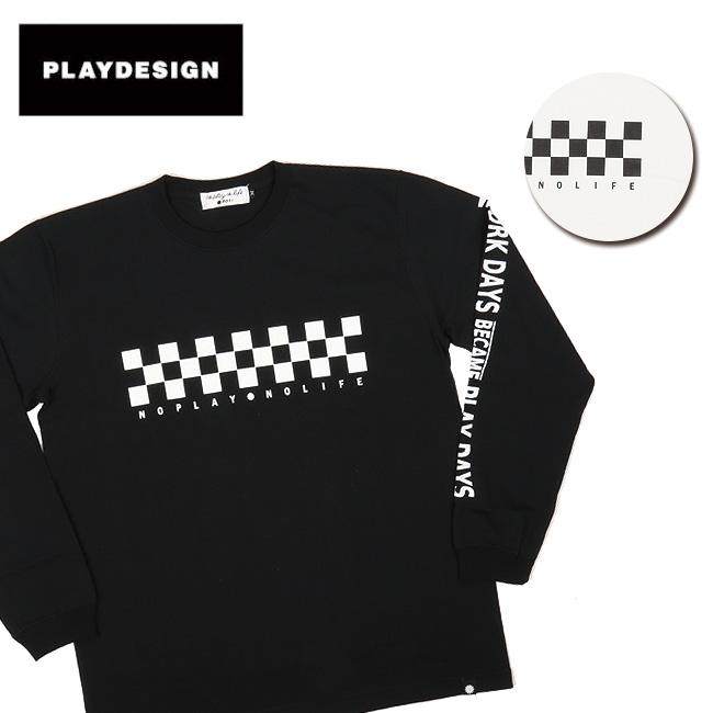 PLAYDESIGN プレイデザイン CF L/S TEE P01-18ST01CF 【アウトドア/Tシャツ/ロングスリーブ】 【clapper】