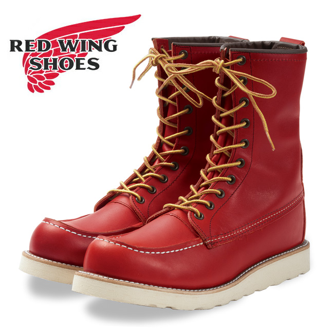 RED WING レッドウイング アイリッシュセッター8インチ モックトゥ Irish Setter / 8 Moc-Toe OroRusset 8877 【アウトドア/ブーツ/靴/ワークブーツ】 【clapper】