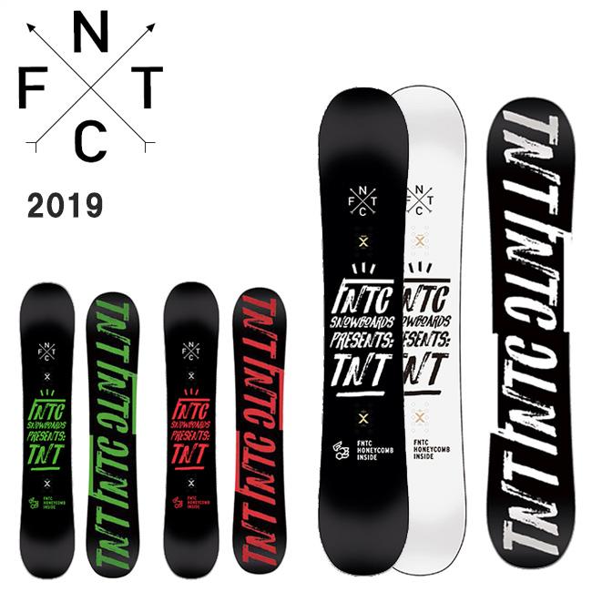 2019 FNTC エフエヌティーシー TNT 【板/スノーボード/日本正規品】