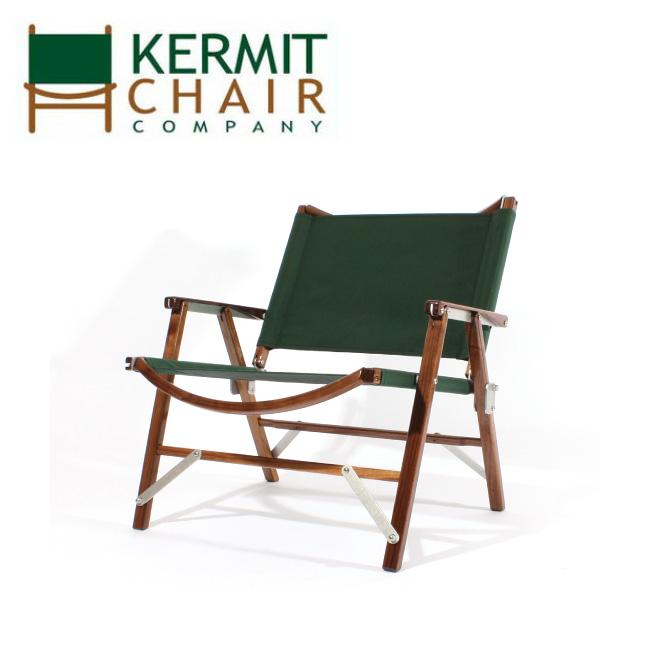 kermit chair カーミットチェアー Kermit Wide Chair WALNUT FOREST GREEN KCC-401 【日本正規品/天然木/椅子/ウォールナット/アウトドア/インドア】 【clapper】