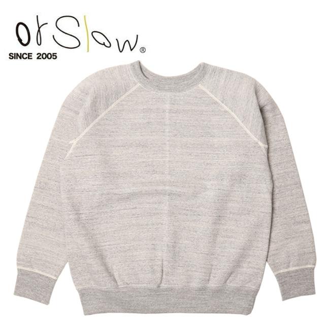 Orslow オアスロウ Sweat Shirt unisex Gray 03-0015-64 【アウトドア/メンズ/レディース/ユニセックス/シャツ/スウェット】 【clapper】