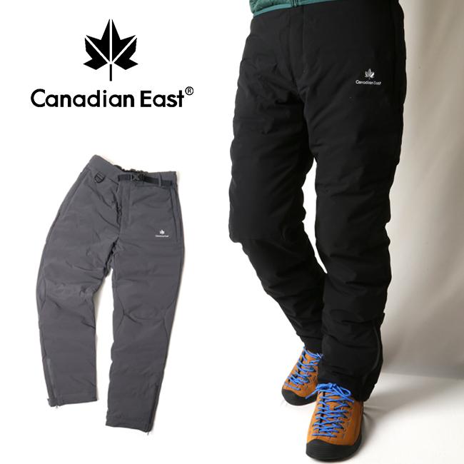 Canadian East カナディアンイースト メンズシームレスダウンパンツ CEW6222P 【アウトドア/ダウン/パンツ/キャンプ/防寒】 【clapper】